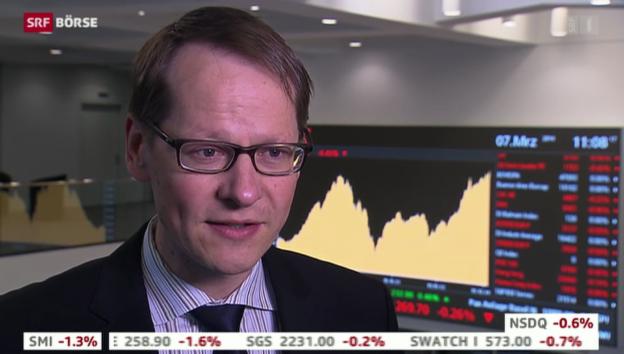 Video «SRF Börse vom 07.03.2014» abspielen