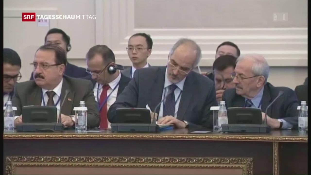 Syrien: Neue Gespräche in Astana