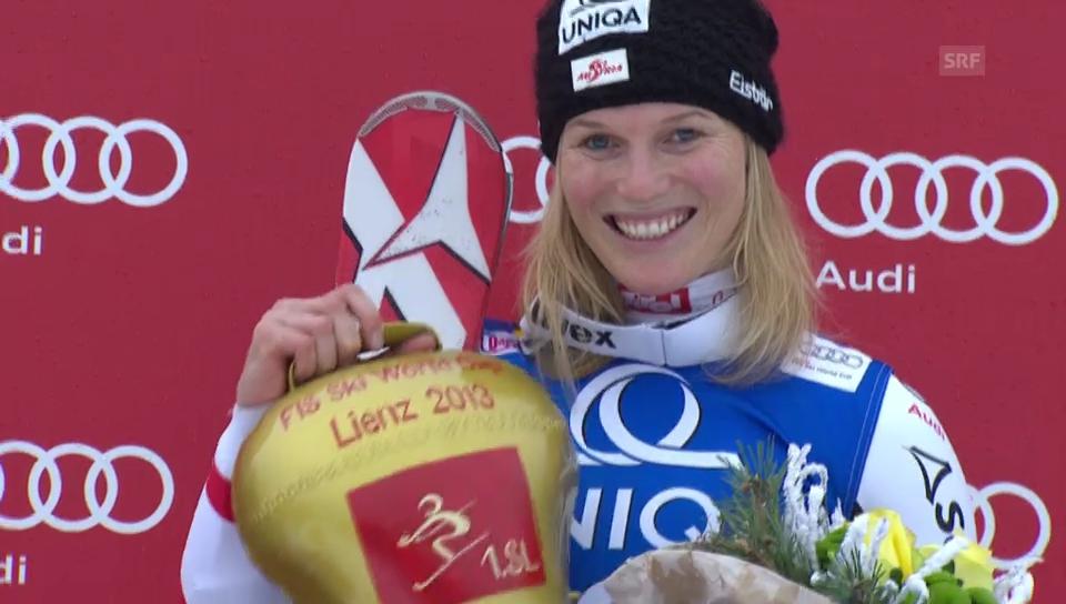 Marlies Schild gewinnt in Lienz