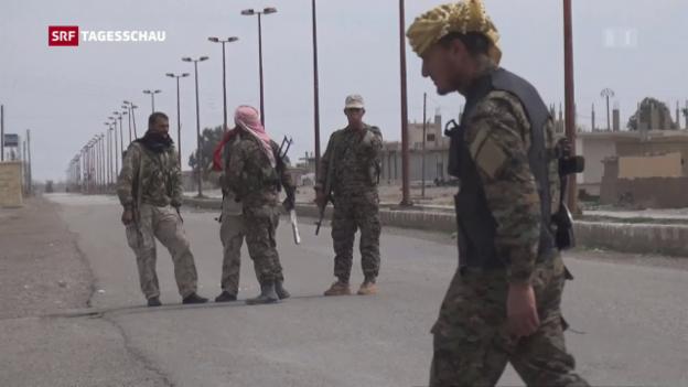 Video «Amerikanisch-türkischer Streit um Kurden» abspielen