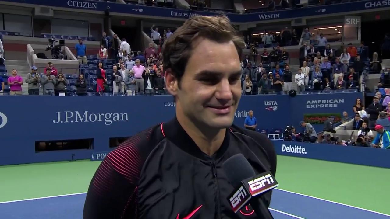 Federer: «Ein gutes Zeichen, wenn man fünf Sätze übersteht»