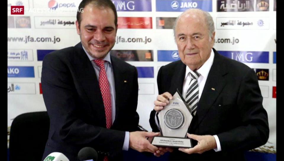 Kampf um FIFA-Präsidentschaft