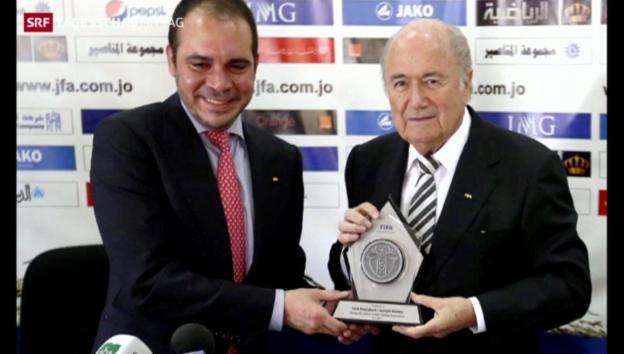 Video «Kampf um FIFA-Präsidentschaft» abspielen