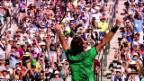 Video «Federer besiegt Wawrinka in Indian Wells» abspielen