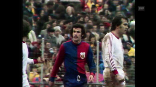 Video «1975 - Hitzfeld, Demarmels und Odermatt besiegen Winterthur in der Verlängerung» abspielen