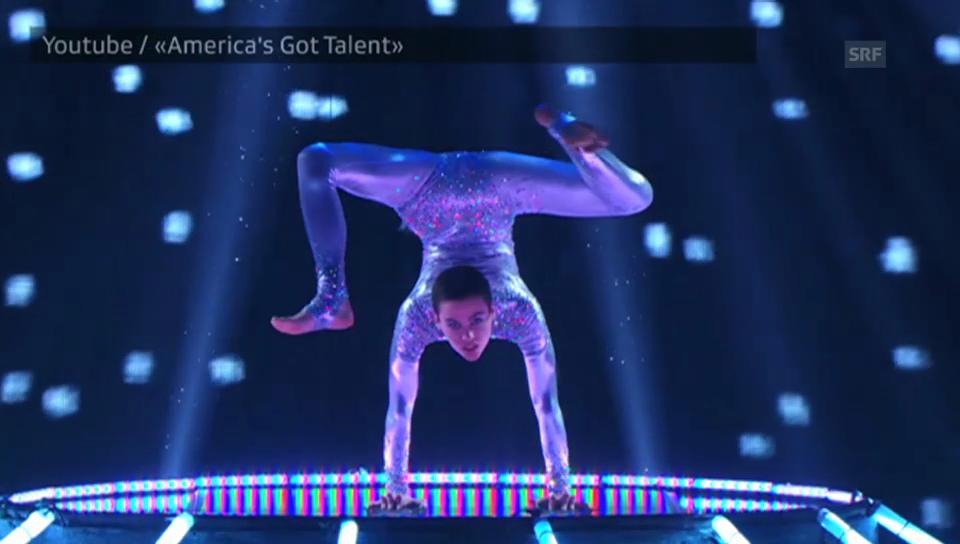 Nina Burris letzter Auftritt bei «America's Got Talent»