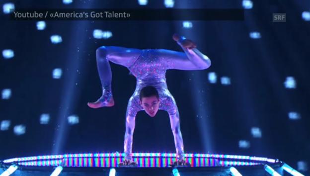 Video «Nina Burris letzter Auftritt bei «America's Got Talent»» abspielen