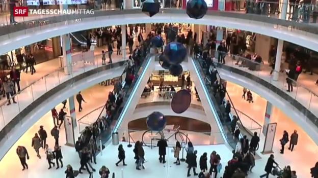 Video «Sonntagsverkäufe sollen Stellen schaffen» abspielen