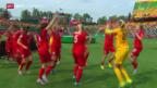 Video «Fussball: Frauen-WM, Spiel um Platz 3» abspielen