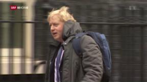 Video «Bürgermeister Boris Johnson tritt ab» abspielen
