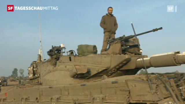 Der Konflikt im Gazastreifen hält weiter an.