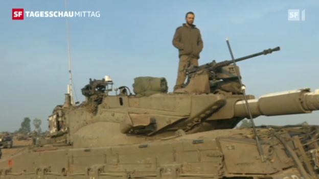 Video «Der Konflikt im Gazastreifen hält weiter an.» abspielen