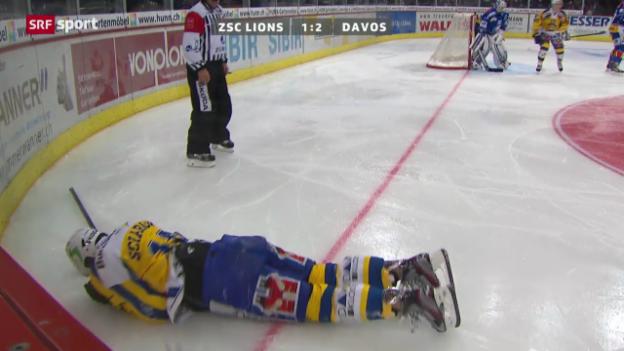 Video «Sciaroni verletzt sich» abspielen