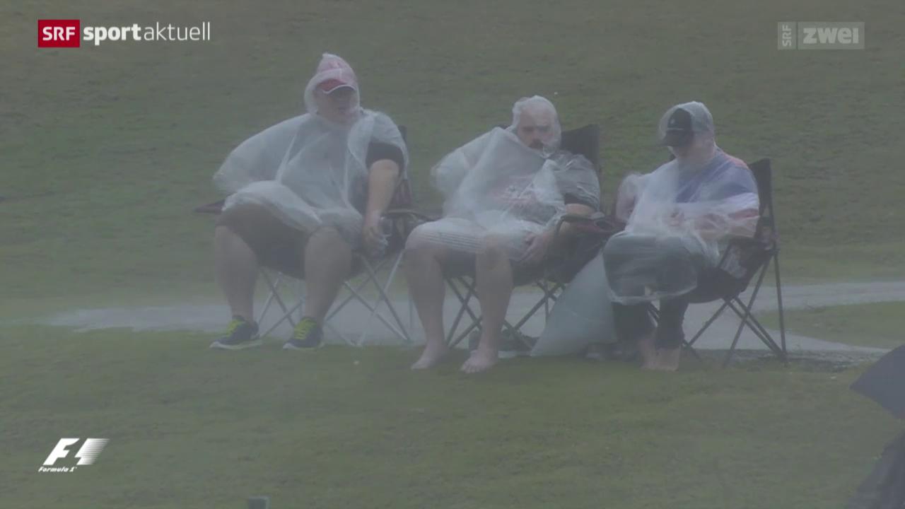 Formel 1: Wetterprobleme in Austin