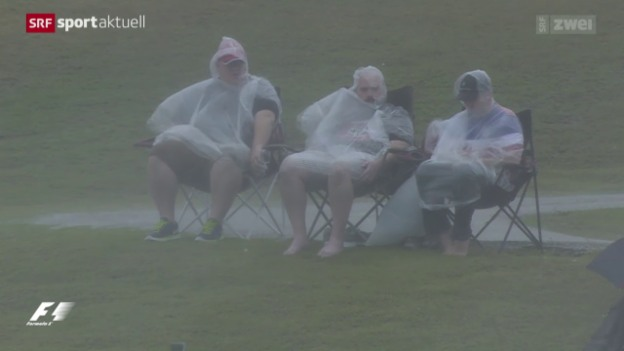 Video «Formel 1: Wetterprobleme in Austin» abspielen