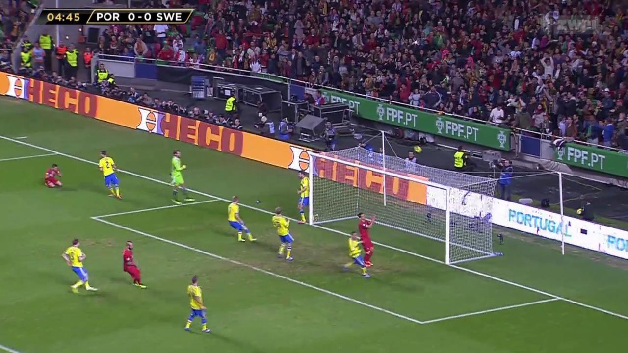 Fussball: Portugal - Schweden