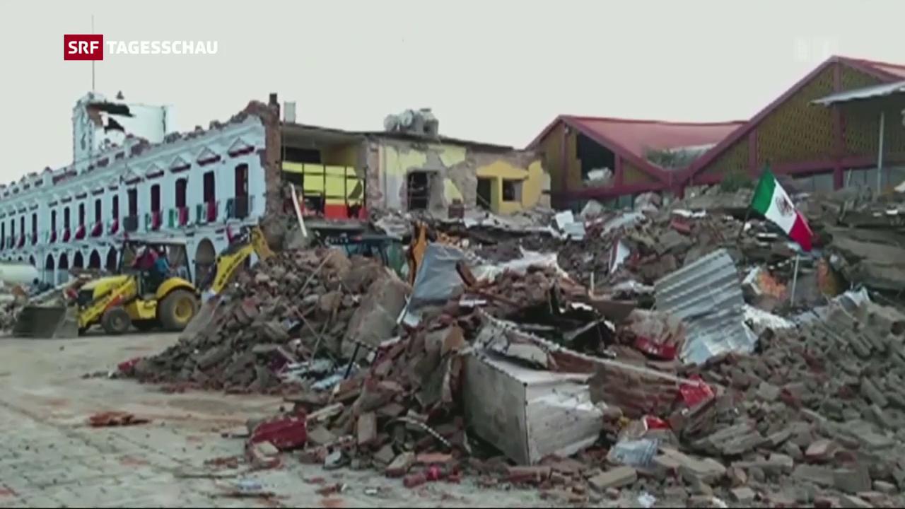 Schweres Erdbeben für Mexikos Küste
