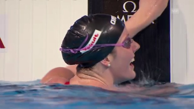 Video «Schwimmen: Final 100 m Rücken der Frauen (unkommentiert)» abspielen