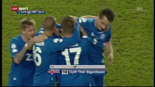 Video «Spielbericht Slowenien - Island» abspielen