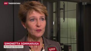 Video «Sommaruga zu Flüchtlingsquote» abspielen