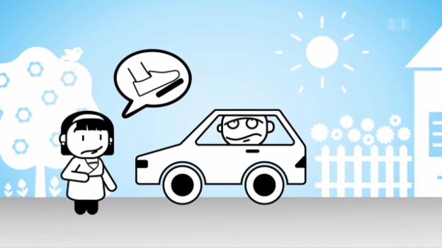 Video ««Darf man das?»: Barfuss Auto fahren» abspielen