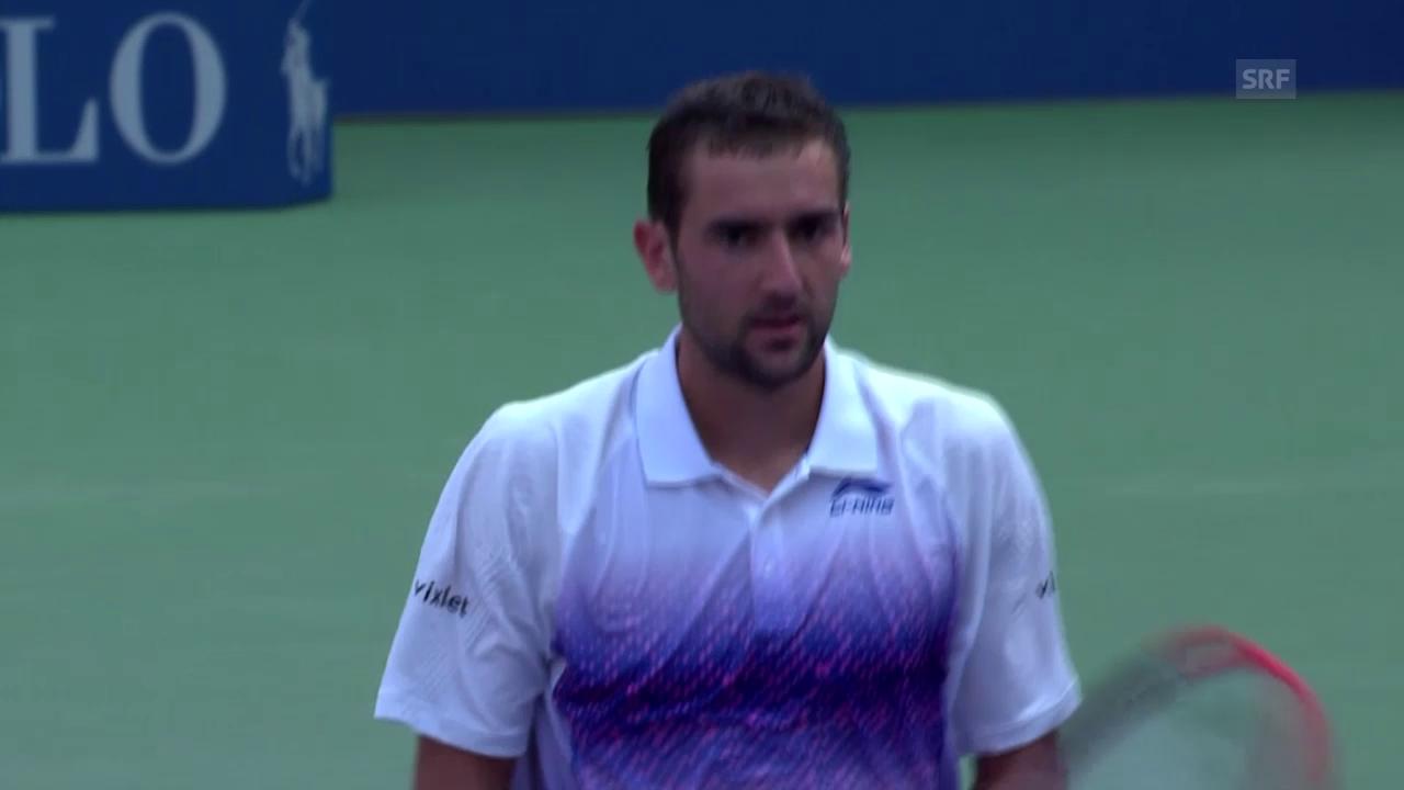 Tennis: US Open, 2. Runde, Cilic-Donskoy