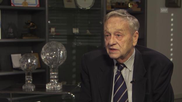Video «Fis-Präsident Gian Franco Kasper über die Konsequenzen der globean Erwärmung» abspielen