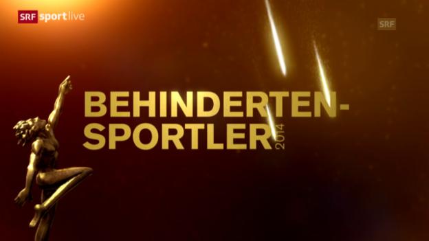 Video «Sports Awards: Wer wird Behindertensportler des Jahres?» abspielen