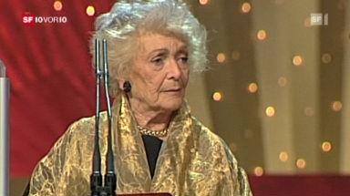 Stephanie Glaser wird 90