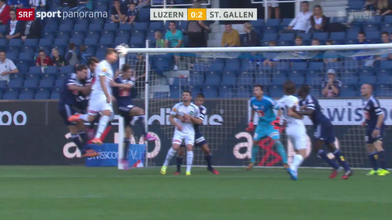 Fussball: Luzern - St. Gallen