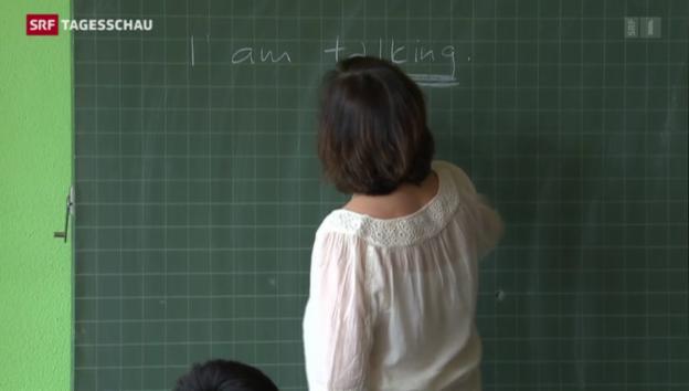 Video «Sprachenstreit: Landessprache hat Vorrang» abspielen