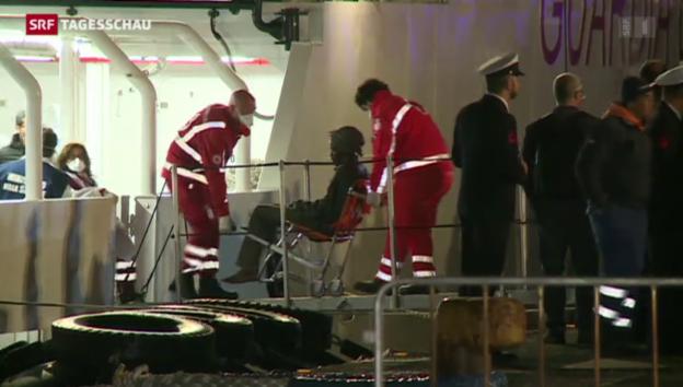 Video «Zwei Mittelmeer-Schleuser verhaftet» abspielen