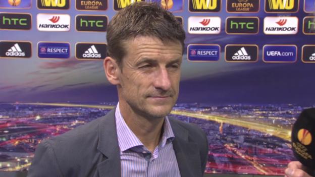 Video «Fussball: Europa League, Limassol-FCZ, Interview Urs Meier» abspielen