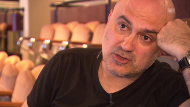 Video «Was kommt nach dem Sex? Das fragt sich der Regisseur Calixto Bieito.» abspielen