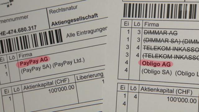 Geld Sex Abo Falle Aus Paypay Wird Obligo Kassensturz Espresso