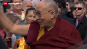Video «Dalai Lama besucht die Schweiz» abspielen