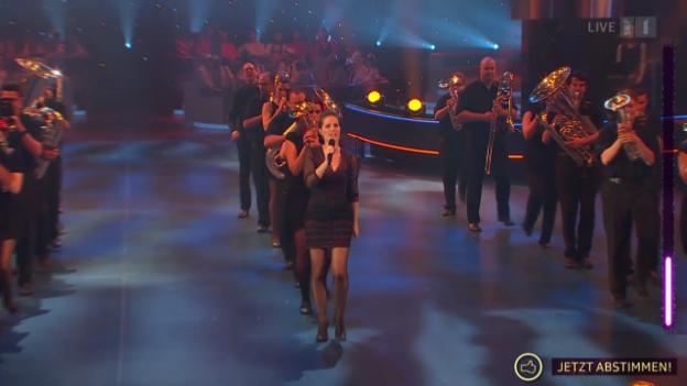 Video «Divert'in Brass mit «Joe Le Taxi», «Papaoutai» und «Dont Stop Me Now»» abspielen