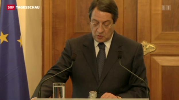 Video «Zypern: von der Krise zum Skandal» abspielen