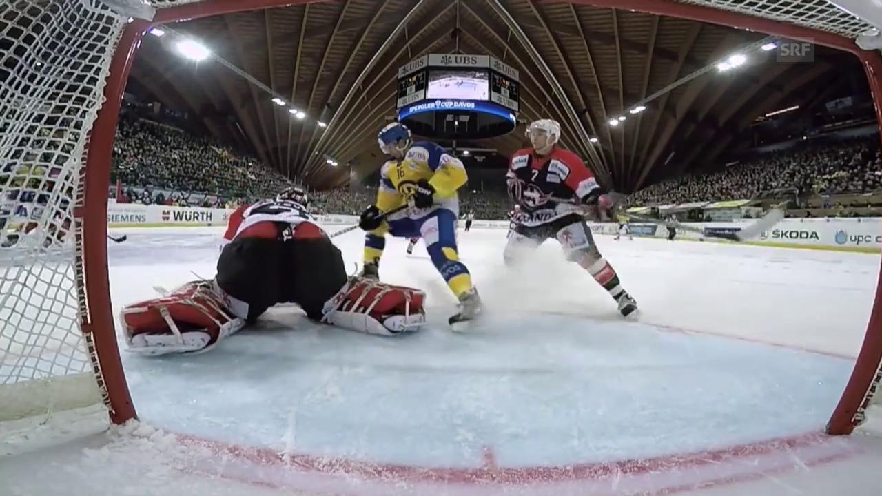 Eishockey: Spengler Cup 2015, Davos-Jekaterinburg, 1:2 Setoguchi