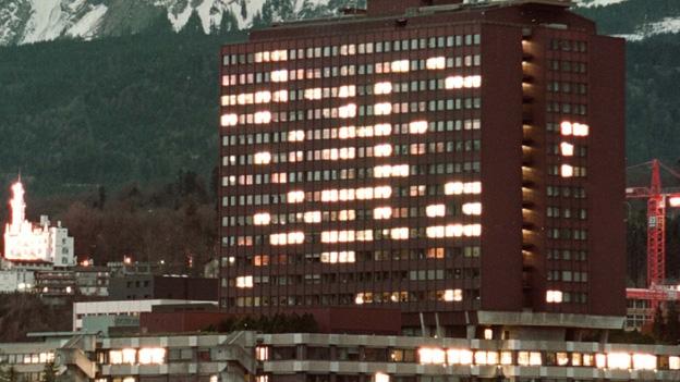Das Kantonsspital Luzern rüstet sich für die Fasnacht (26.2.2014)