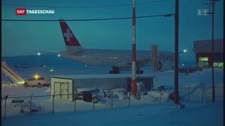 Video «Swiss-Maschine in Kanada notgelandet» abspielen