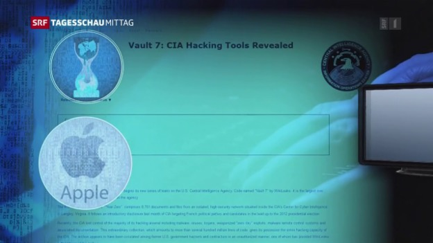 Video «Wikileaks veröffentlicht Tausende CIA-Dokumente» abspielen
