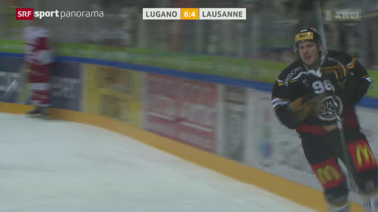 Lugano ringt Lausanne nieder