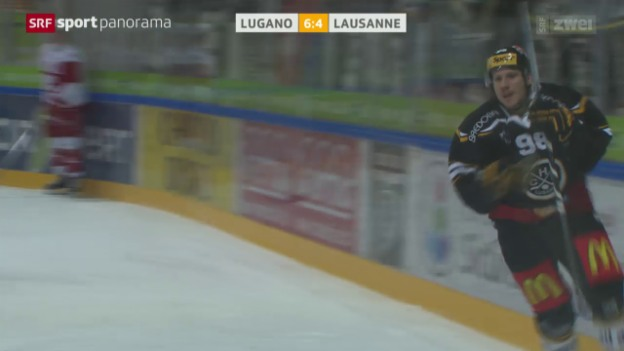 Video «Lugano ringt Lausanne nieder» abspielen