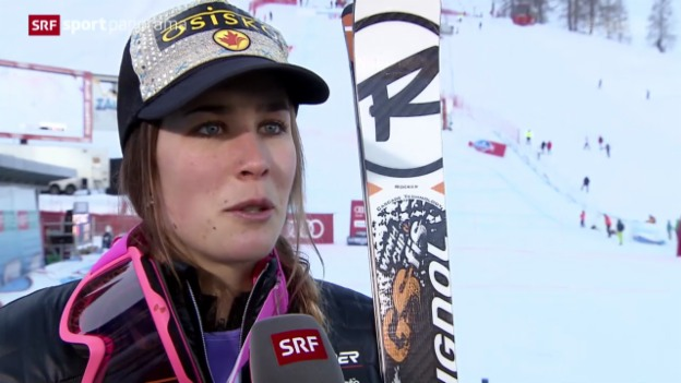 Video «Ski: Super-Kombination Frauen Altenmarkt-Zauchensee» abspielen