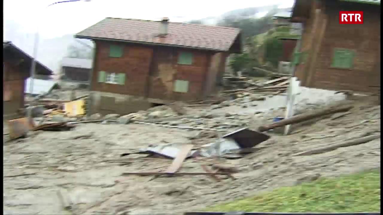Inundaziuns a Schlans