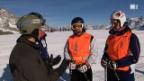 Video «Blind auf der Skipiste» abspielen