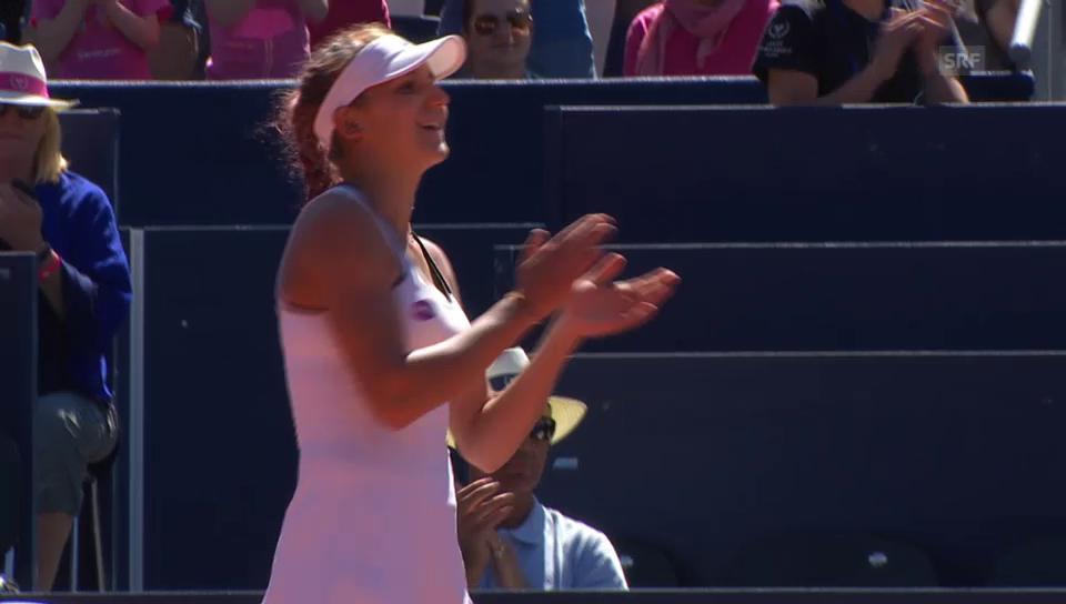 Golubic steht erstmals in einem WTA-Final