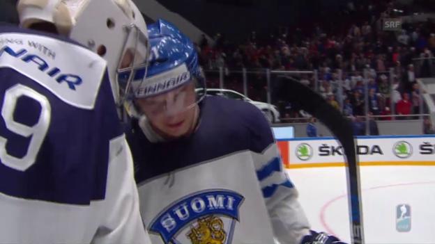 Video «Zusammenfassung Kanada - Finnland» abspielen