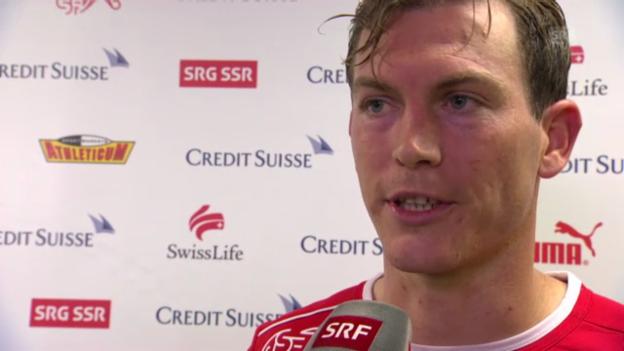 Video «Fussball: Interview mit Stephan Lichtsteiner» abspielen